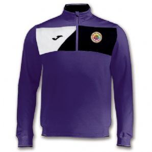 Le Cheile SS Crew II Quarter Zip Purple/Black - Adults